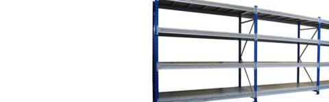 Металлические грузовые стеллажи серии SGR