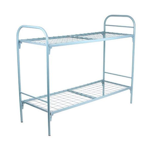 кровать металлическая с круглой спинкой