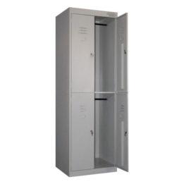шкаф металлический 4 секции