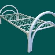 арт 003 кровать металлическая одноярусная