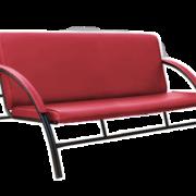 диван офисный красный