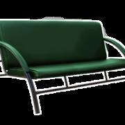 диван офисный трехместный