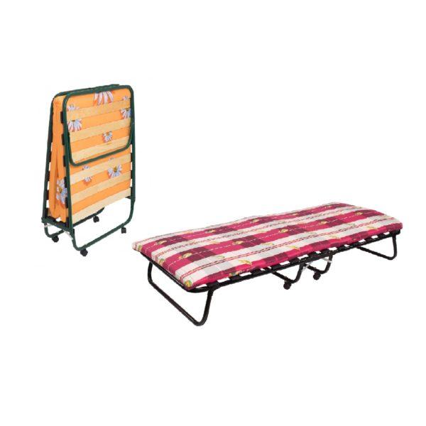 раскладушка кровать на колесах 1