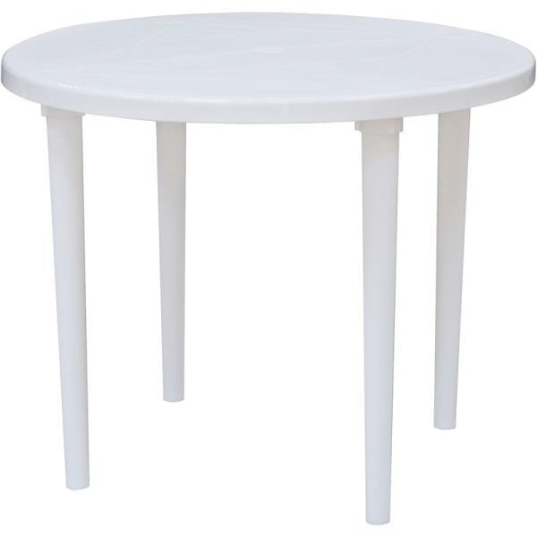 стол круглый пластиковый