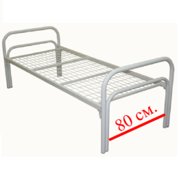 кровать металл 80 190 1