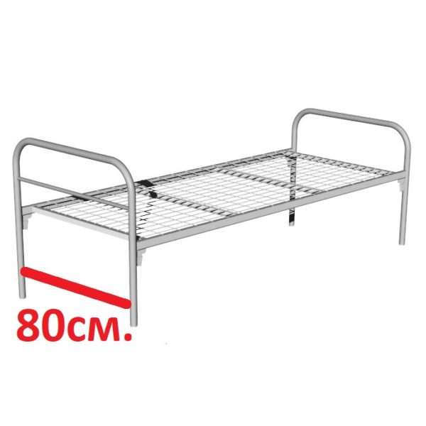 кровать односпальная 80-2
