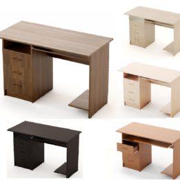 стол компьютерный с подставкой и ящиками 1